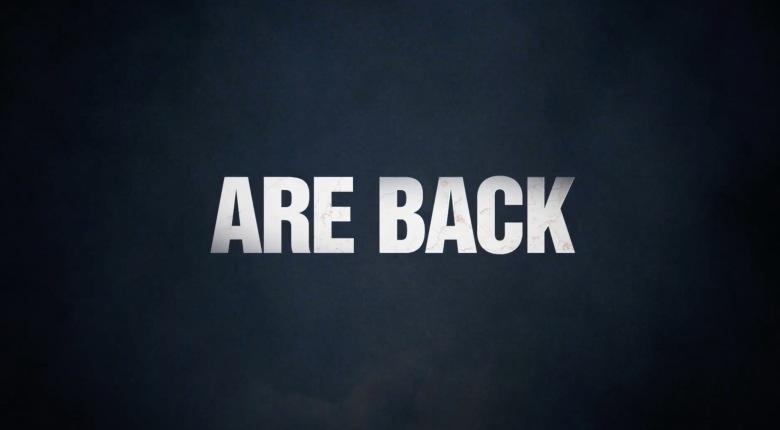Are back